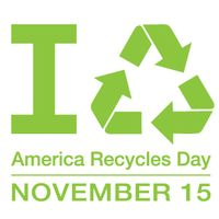 America Recycles Day Nov 15 2013